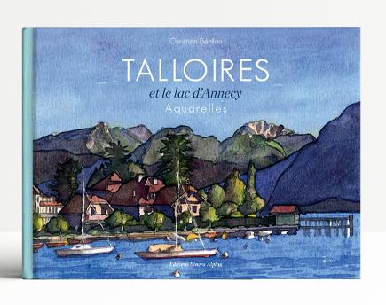 Talloires, et le lac d'Annecy